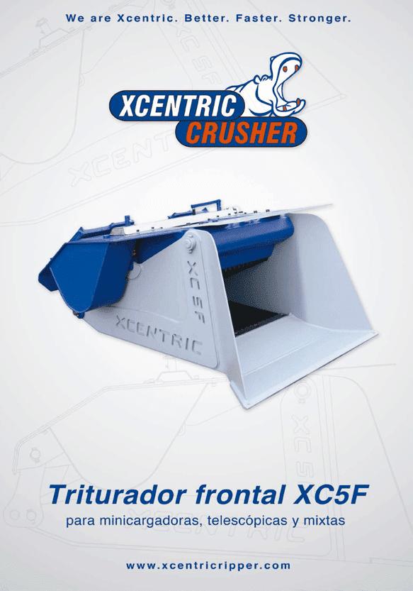 CATÁLOGO XCENTRIC CRUSHER XC5F PORTADA
