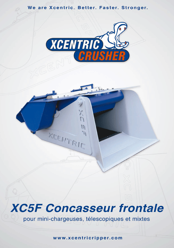 GODET CONCASSEUR FRONTALE XC5F CATALOGUE
